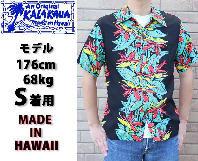 カラカウア,アロハシャツ,ハワイアンシャツ,画像,