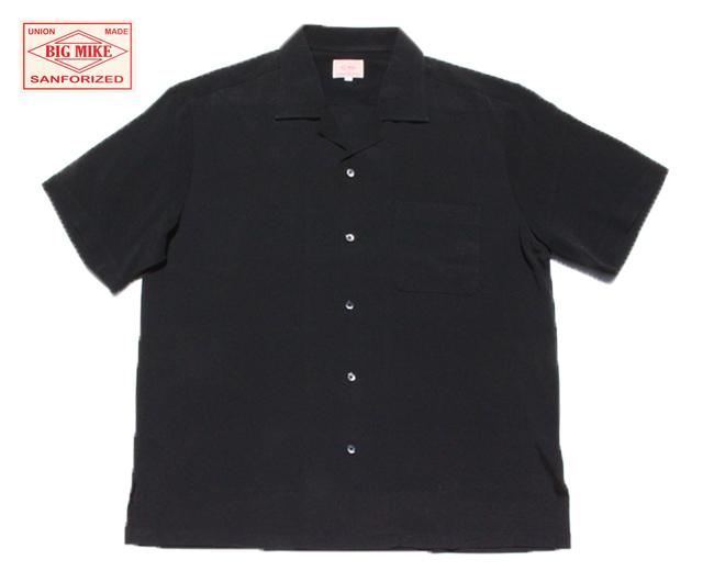 BIGMIKE ビッグマイク レーヨン 開襟シャツ