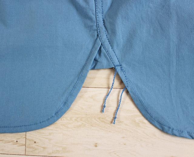 ファイブブラザー 刺繍 長袖 ワークシャツ