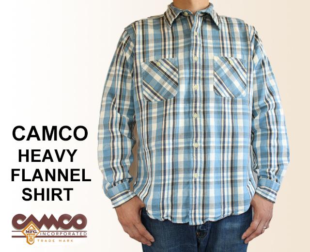 カムコ ネルシャツ 2017