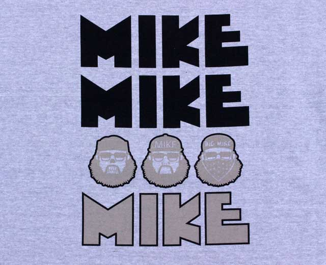 BIGMIKE ビッグマイク オジサンスウェット