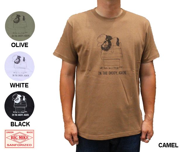 BIGMIKE オジサンTシャツ