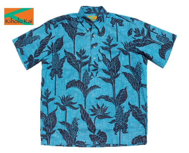 キホロカイ アロハシャツ ヒロ ハワイ製