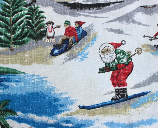 レインスプーナー アロハシャツ クリスマス2019
