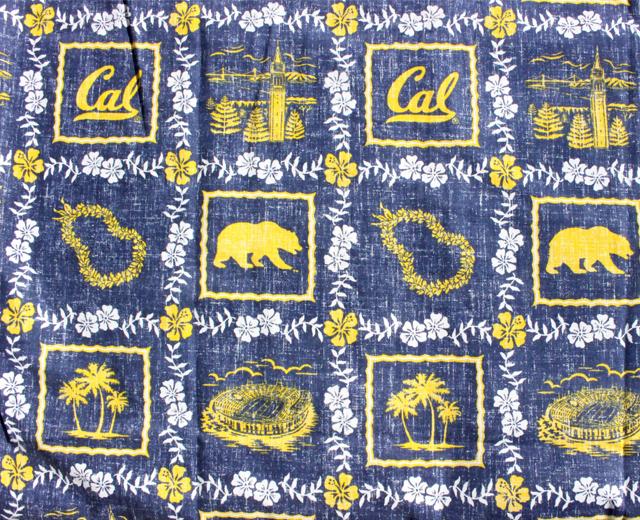 レインスプーナー  アロハシャツ カリフォルニア大学バークレー校
