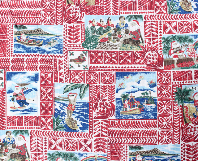レインスプーナー  アロハシャツ ハワイアンクリスマス2020