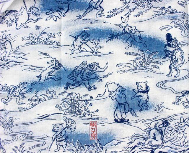 ステュディオ・ダ・ルチザン アロハシャツ 40周年 鳥獣戯画