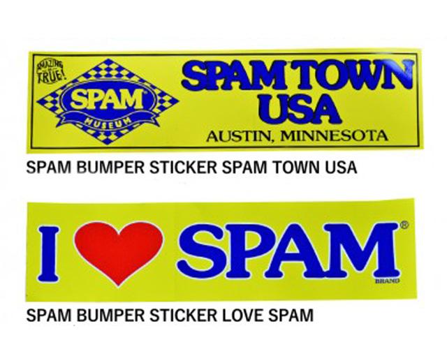 SPAM スパム バンパーステッカー