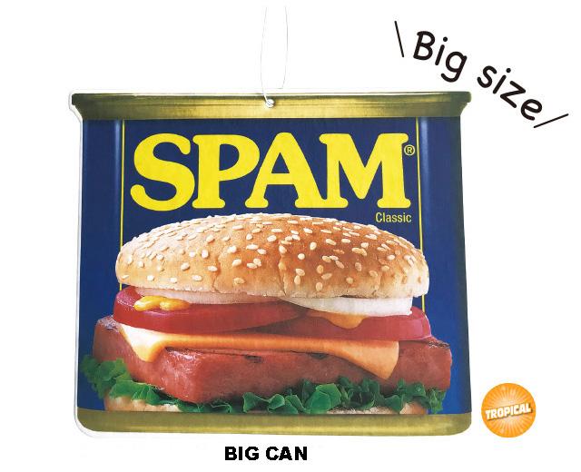 SPAM スパム ビッグエアフレッシュナー