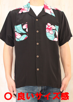 アロハシャツ,サイズ,画像