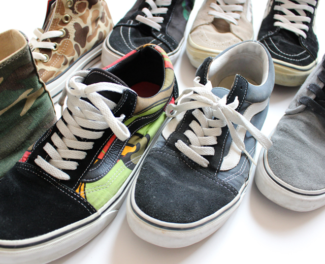 ワークシャツ、靴、スニーカー、ブーツ