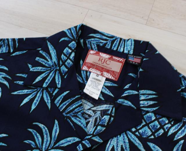 アロハシャツ RJC ハワイ製
