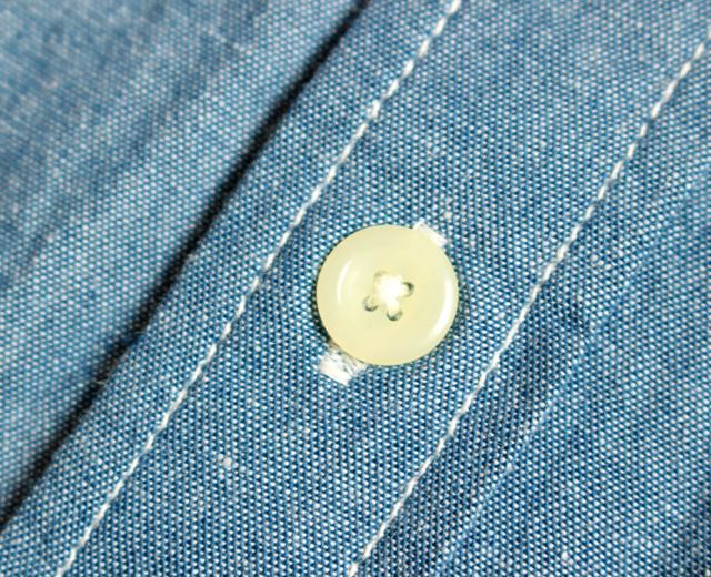 カムコ シャンブレーシャツ 半袖