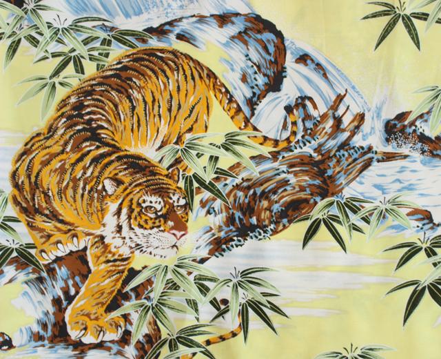 コナベイハワイ アロハシャツ 和柄 虎