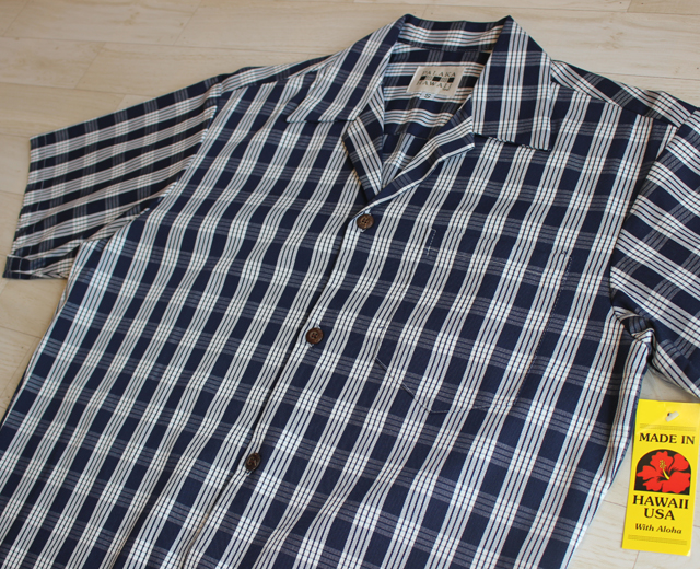 パラカハワイ,パラカシャツ,ハワイ製